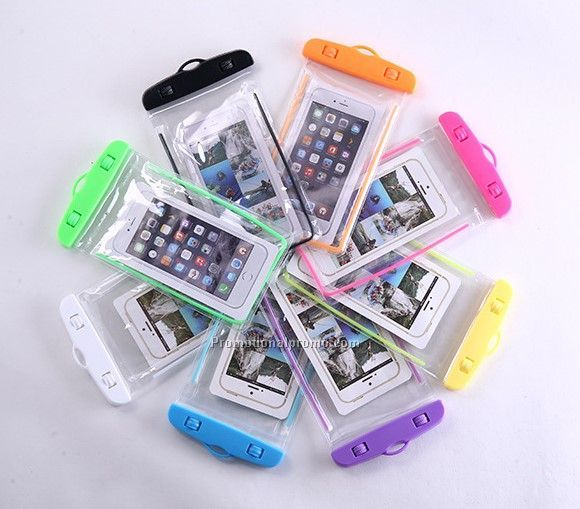 Custom Color Cellphone Mobile Phone Touch Screen Pouch Bag Swimming Floating Waterproof Phone Cases