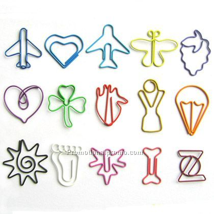 Shaped Paper Clips China Wholesale Spc1011039