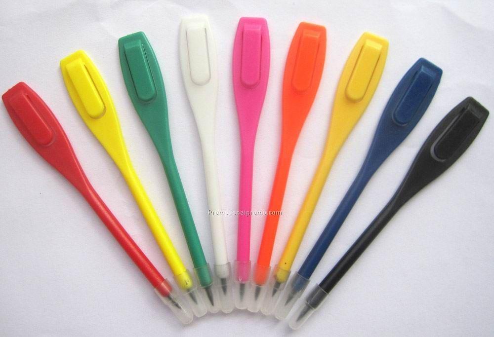 Plastic clip pencil golf pencil