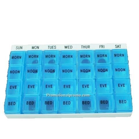 Plastic 28 days Weekly Pill Box