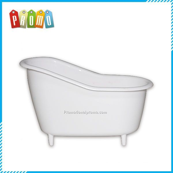 Plastic Mini bathtub shaped bath Storage container