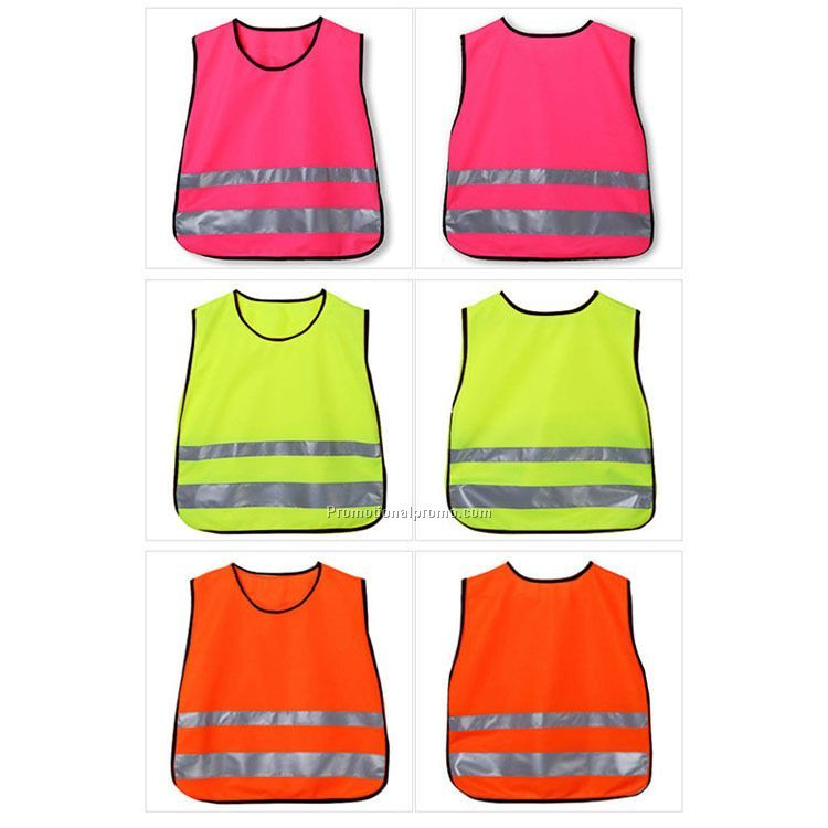 Childrem reflective safety vest