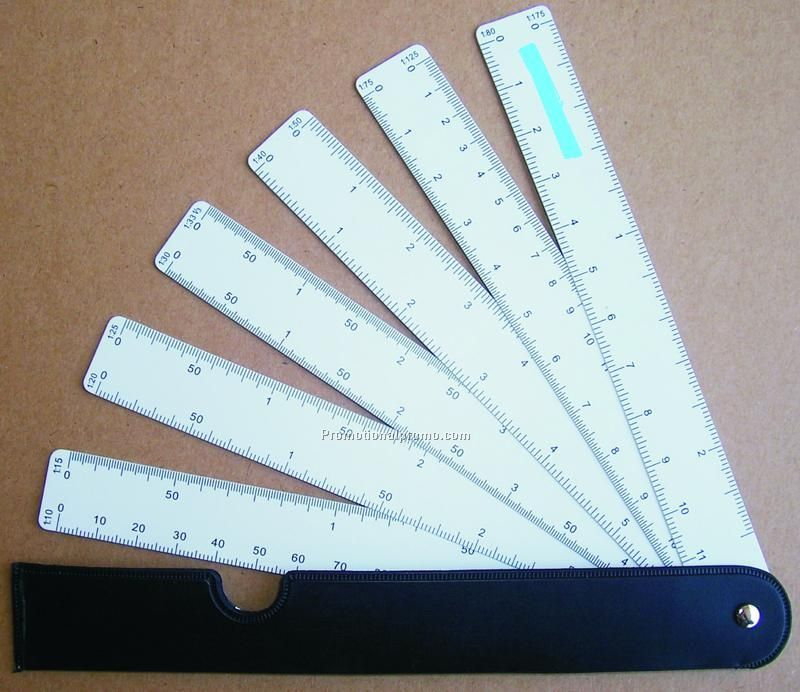 Fan Reduction Ruler