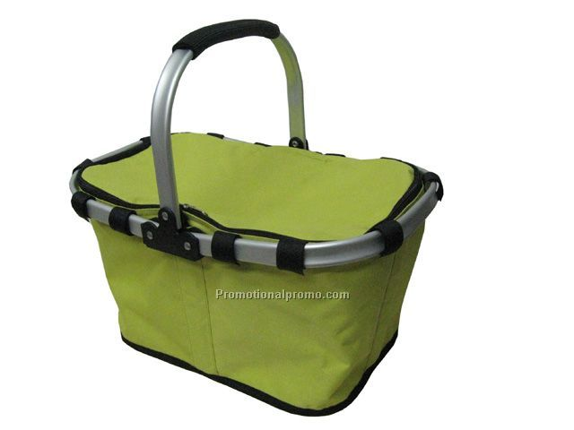 Insulated picnic basket, Folding shopping basket, Collapsible folding baskets