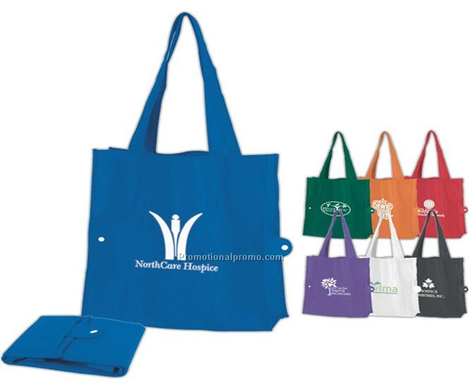Reusable fold up grocer bag, Reusable foldable shopping bag