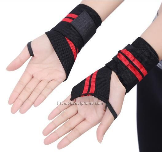Elastic band aid with lifting wrist strap