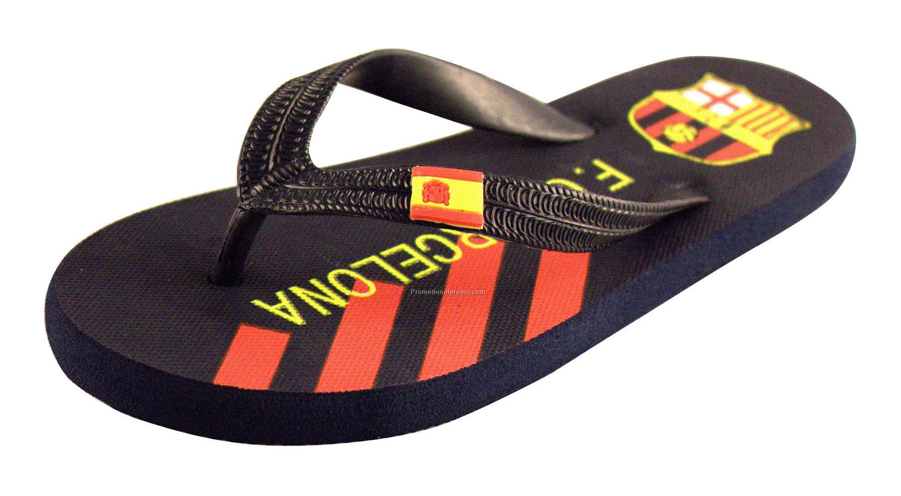 Customized slipper flip flops