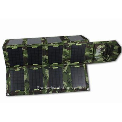 42W 12-panel Foldable Solar Charger