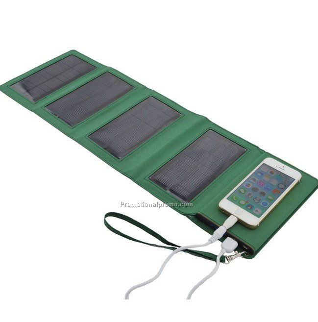 Outdoor camping solar charger, 8000mAh solar power bank