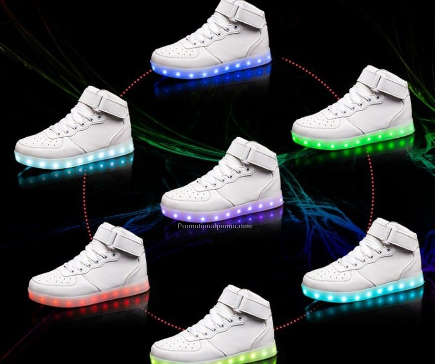 Classic Fashion Comfortable Breathable LED Light Shoes