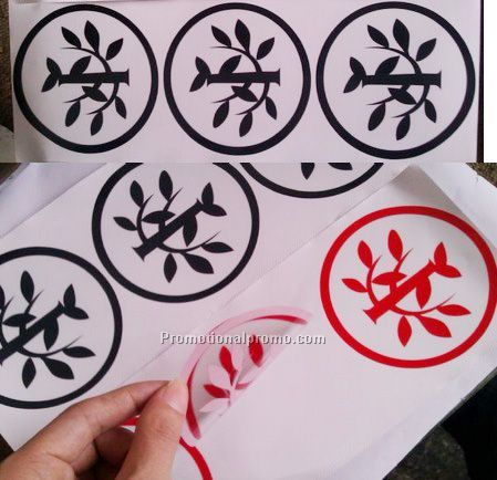 Customize Plastic Windshield stickers