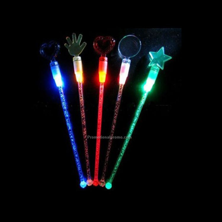 light up led plastic stirrer
