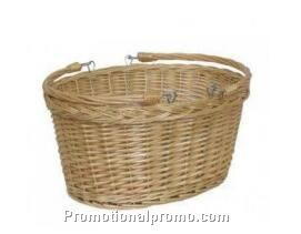Customized handmade willow basket
