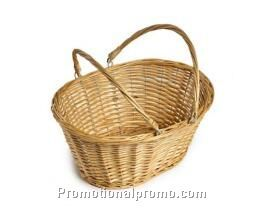 OEM handmade willow basket