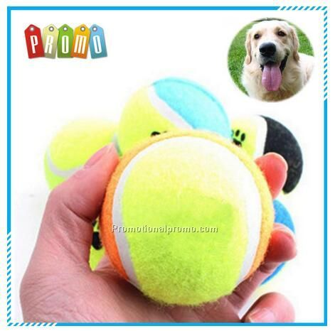 Rubber dog toys Pet Tennis Ball Thrower, Pet Tennis Ball Toys for dog
