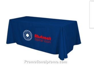 8ft (3 sided)polyester table throw
