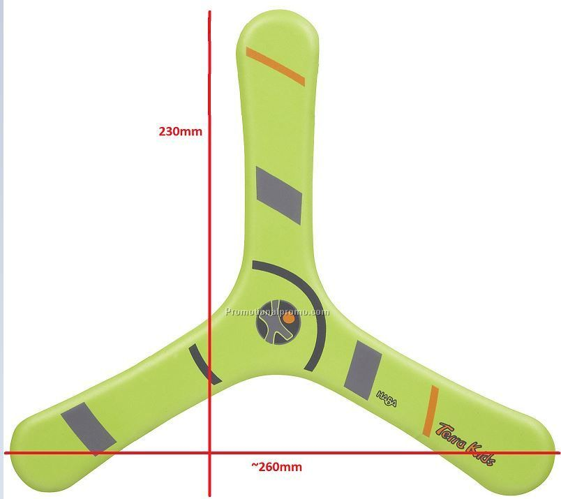 Customized printing EVA foam Boomerang