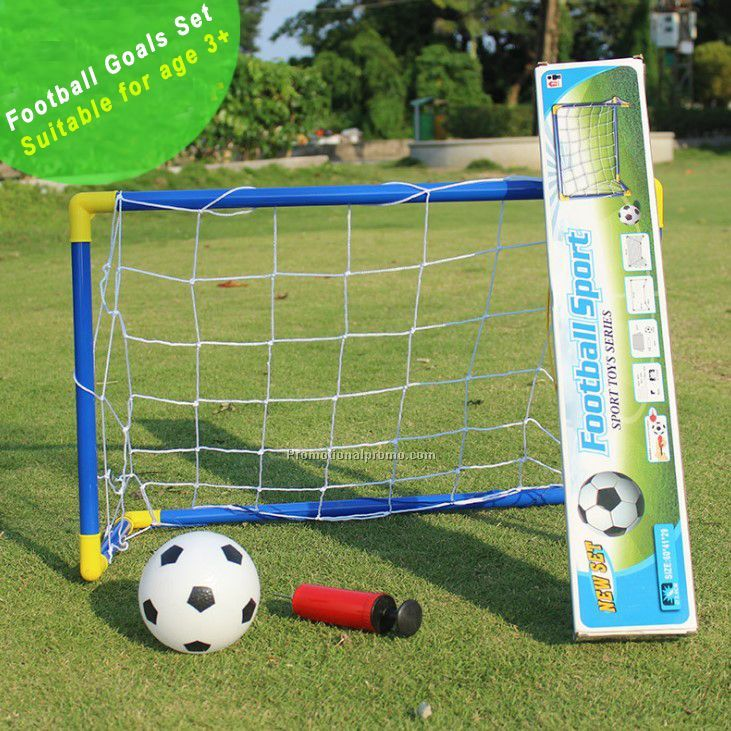 Indoor Outdoor Portable Soccer football Goal Set for kids toy