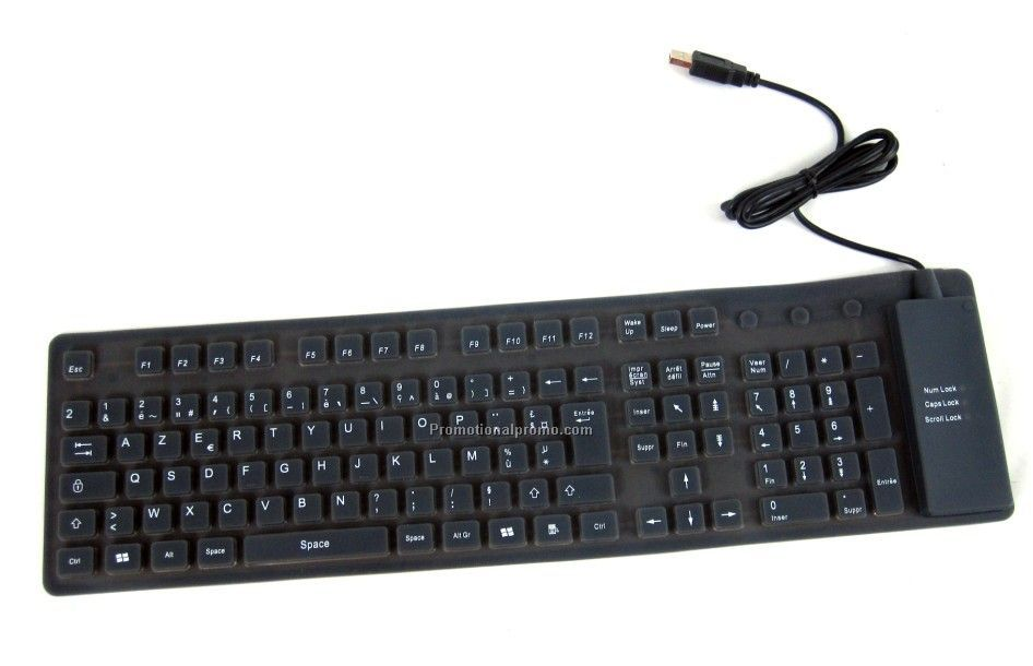 109 Keys Silicone Keyboard