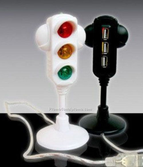 The traffic lights 3 ports USB HUB