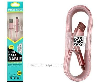 Combo Data Charging Cable for Apple and Android