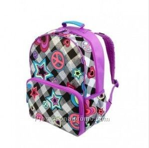 New model backpacks children star pattern school bag