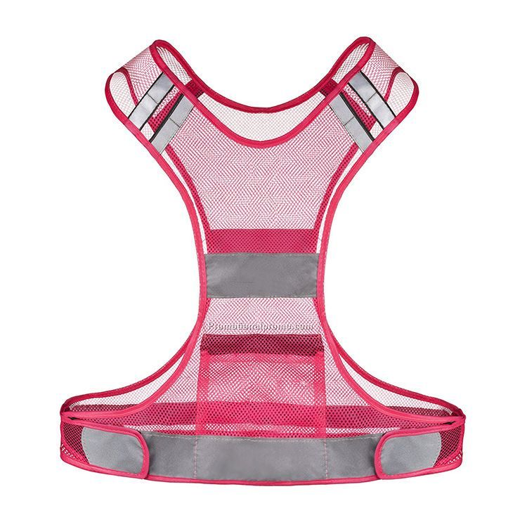 Fashion pink safety vest