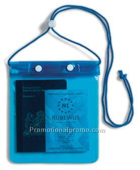 Water-resistance neck wallet