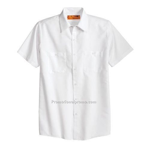 Work shirt cornerstone short sleeve industrial work for Custom work shirts cheap
