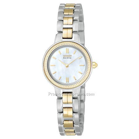 Citizen Eco-Drive Lady's Stainless Steel Two-Tone