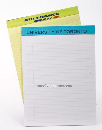 Personalized Writing Pads with Elegant Leather and Faux Suede Covers