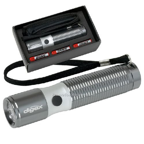 Executive Two-Tone Flashlight