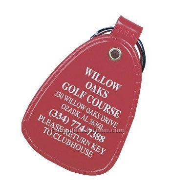 Large Western Key Tag