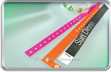 Tyvec Wrist Bands - Printed