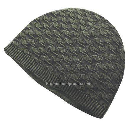 Cotton Knit Beanie by KnotEnufKnit | Knitting Pattern