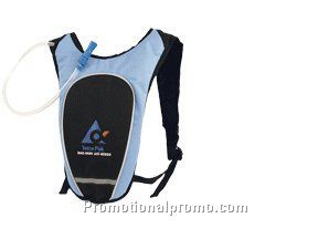 Hydration back pack - 600D/pvc