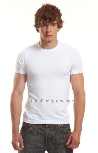 Men 39 s bamboo stretch slim fit t shirt china wholesale for Cheap slim fit shirts