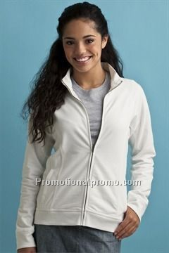 WOMEN37459 FRENCH TERRY FULL ZIP JACKET - NEW!