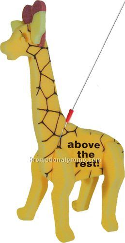 Giraffe Foam Walking Pet