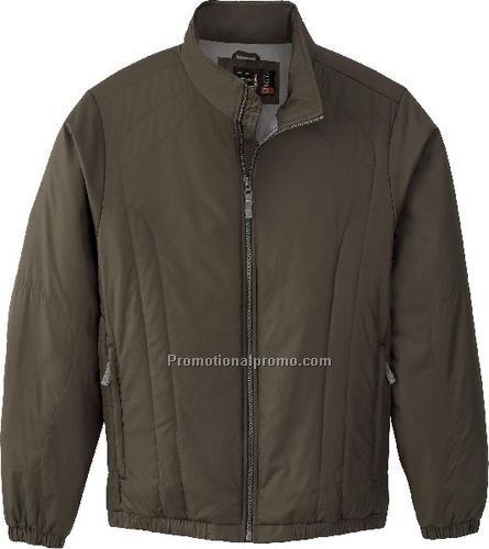 NEW MEN37459 INSULATED HIGH-COUNT POLYESTER JACKET