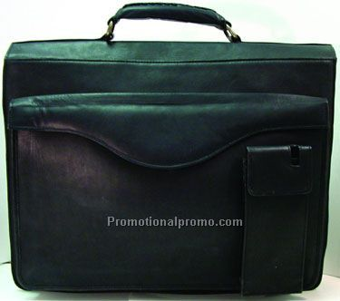 Top Flap Briefcase - 2 Gussets