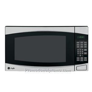 GE - 1.8 Cu. Ft. Full-Size Microwave - Stainless-Stee