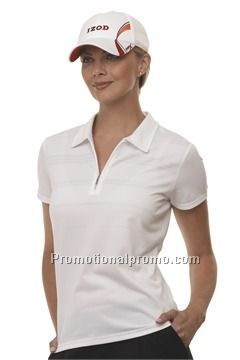 IZOD XFG WOMEN37459 BODY MAPPING POLO - NEW!