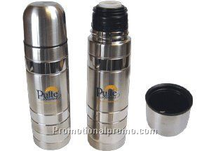 Two tone stainless steel thermos  - 16 oz