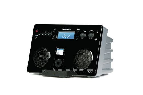 iYiYi High Fidelity iPod AM/FM Stereo System - Black