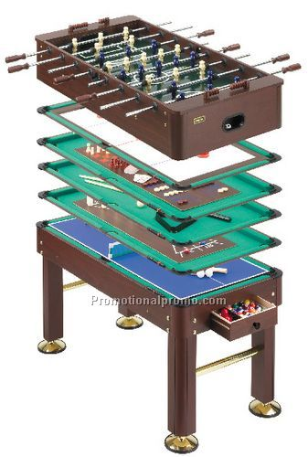 Progressive 10 in 1 multi game table china wholesale for 10 in 1 games table