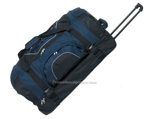 Travel Duffel Bag on Wheels - Unprinted