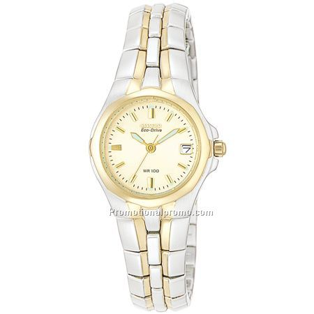 Citizen Eco-Drive Lady's - Two-Tone