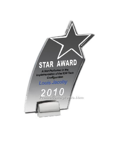 Star Award with Chrome Base
