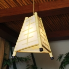 unique bamboo lamp